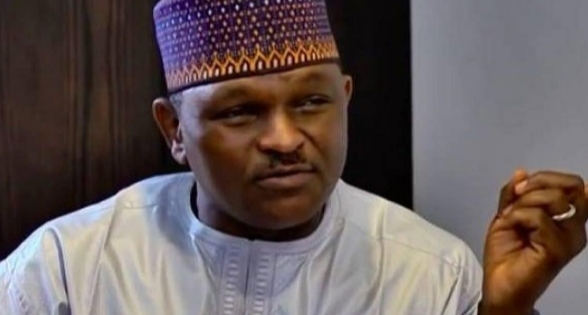 Major Hamza Al-Mustapha former Chief Security Officer to the former Head of State, Gen. Sani Abacha (Late)