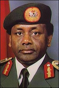 Gen. Sani Abacha (Late), former Head of State, Federal Republic of Nigeria.