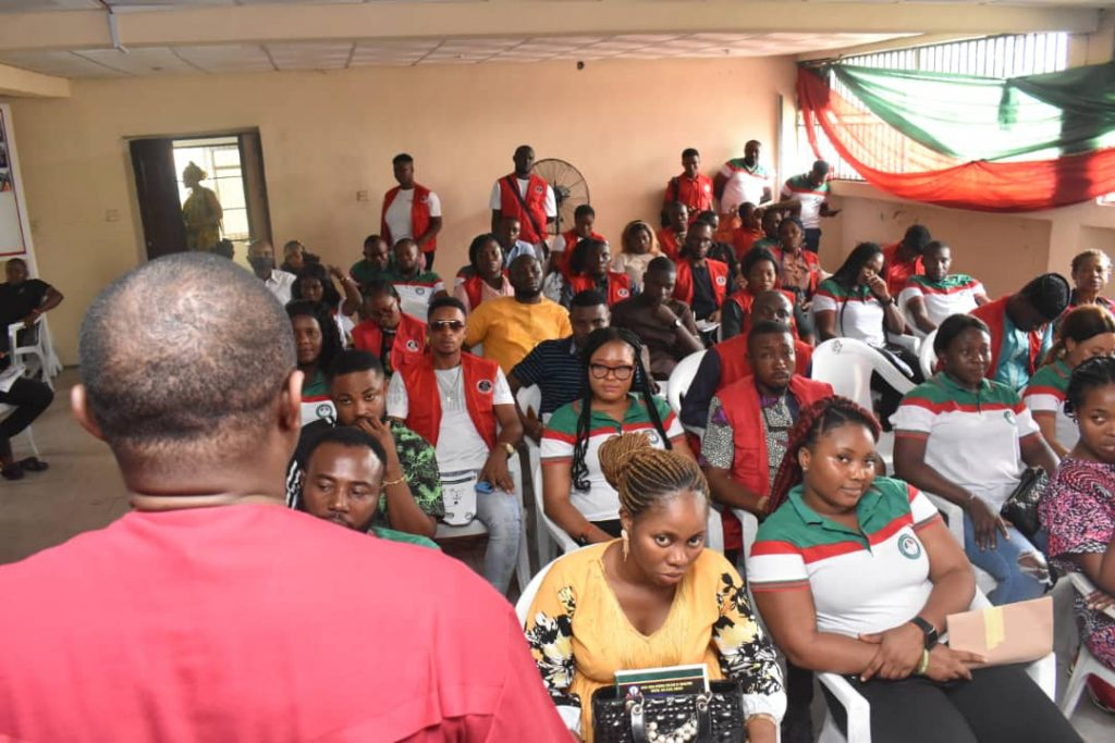 A cross section of Volunteers of Imo PDP New Media